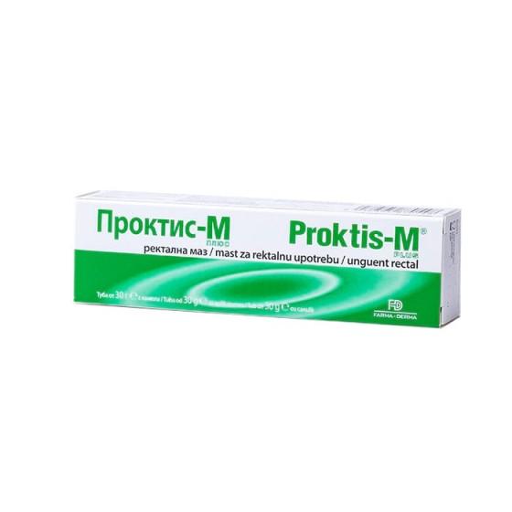 ПРОКТИС - М / PROKTIS – M ректална маз при хемороиди
