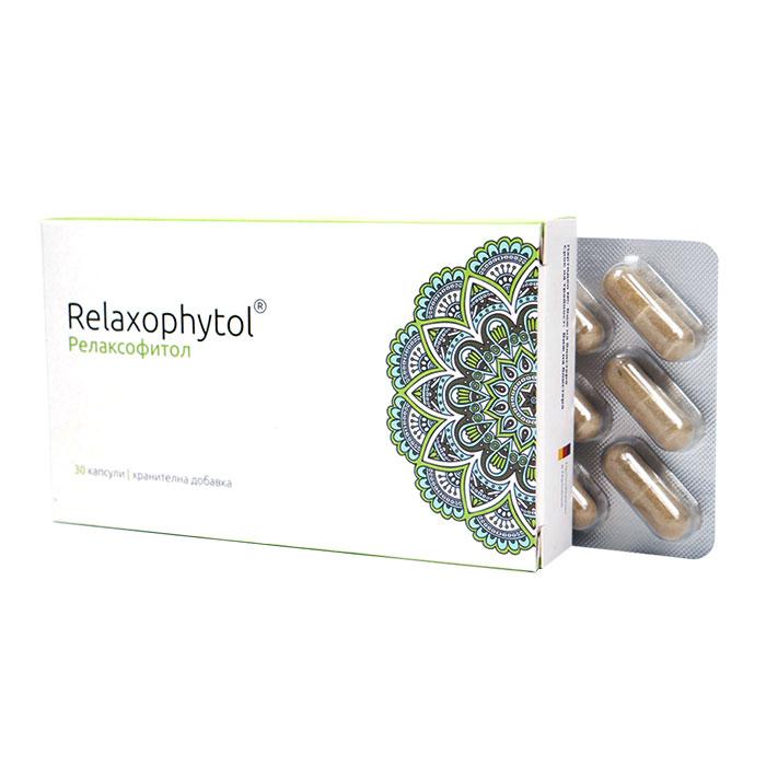 РЕЛАКСОФИТОЛ / RELAXOPHYTOL за нормална нервна система и психична функция