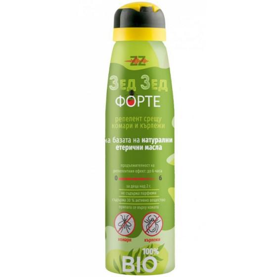 ZZ Forte / Зед Зед Форте спрей против комари и кърлежи за деца и възрастни