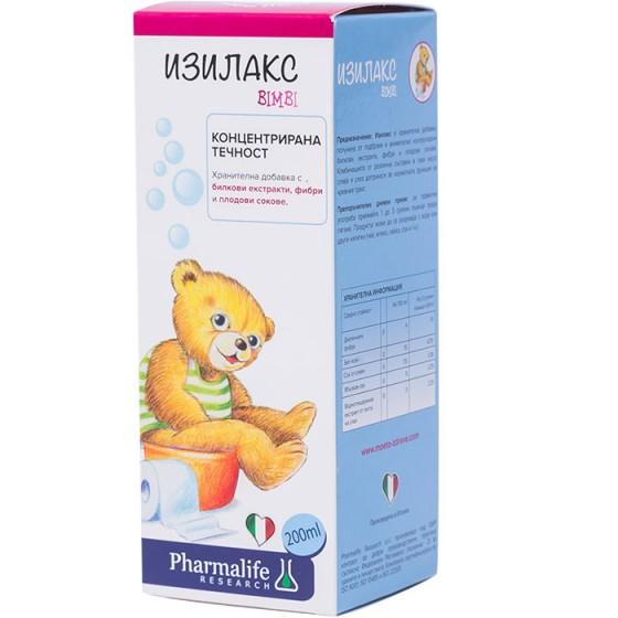 ISILAX BIMBI / ИЗИЛАКС БИМБИ натурален лаксатив за деца