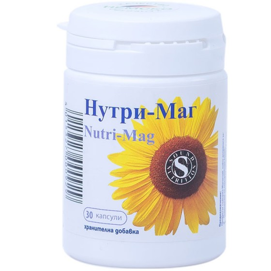 NUTRI-MAG / НУТРИ-МАГ при недостиг на магнезий