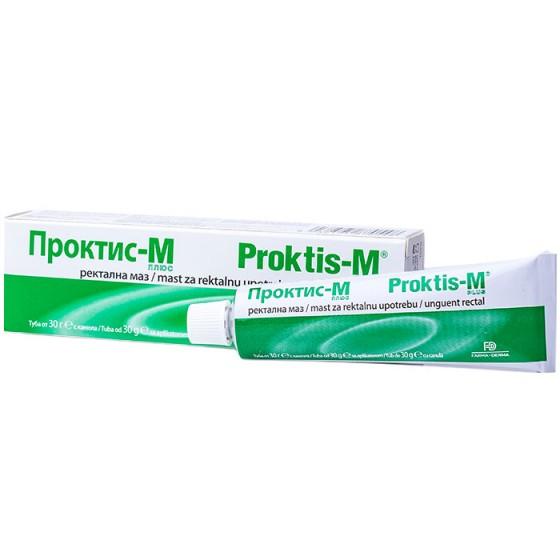 PROKTIS–M / ПРОКТИС-М ректална маз при хемороиди