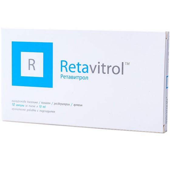 RETAVITROL / РЕТАВИТРОЛ за нормално зрение и имунна функция