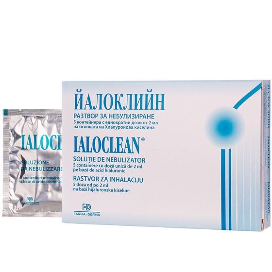 IALOCLEAN / ЙАЛОКЛИЙН разтвор за инхалации