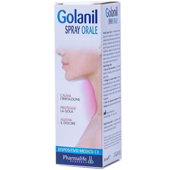 GOLANIL SPRAY / ГОЛАНИЛ СПРЕЙ за болно гърло