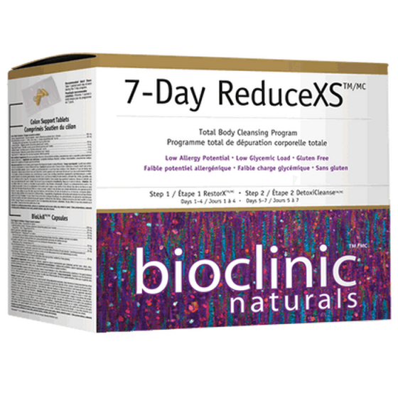 Natural Factors 7-Day ReduceXS (седем дневна детокс програма)