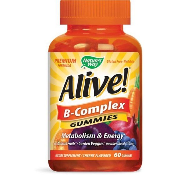 Alive/Алайв В-Комплекс 60 желирани таблетки