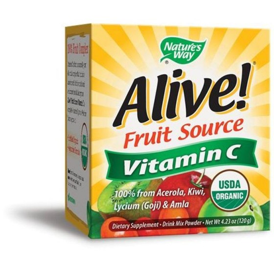 Alive/Алайв Витамин С 500 mg 120 g пудра