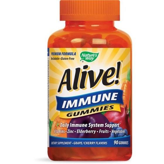 Alive/Алайв Имунна защита 90 желирани таблетки
