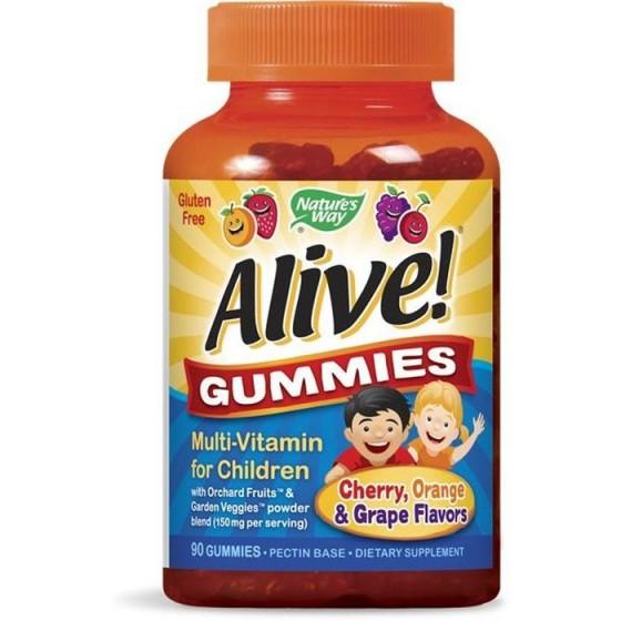 Alive/Алайв Мултивитамини за деца 90 желирани таблетки