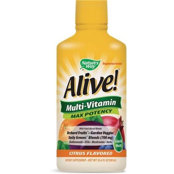 Alive/Алайв течен мултивитамин 900 мл