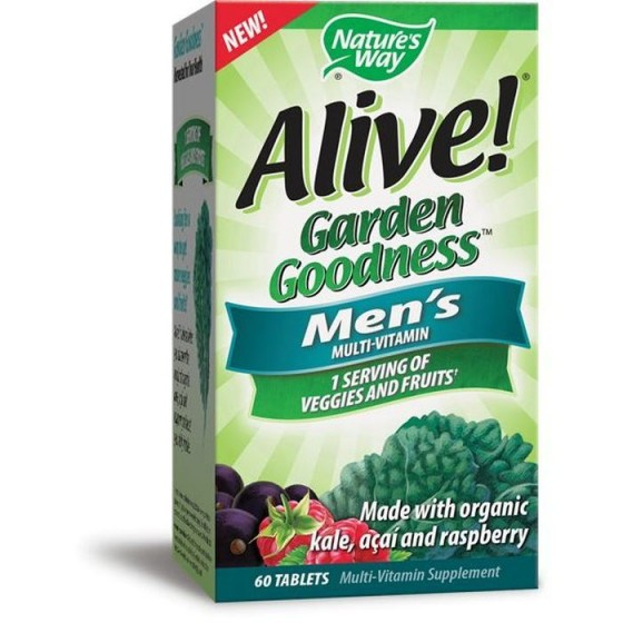 Alive / Алайв Garden Goodness Мултивитамини за мъже 60 таблетки