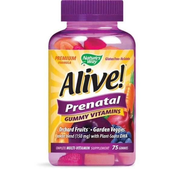 Alive/Алайв Prenatal 75 желирани таблетки