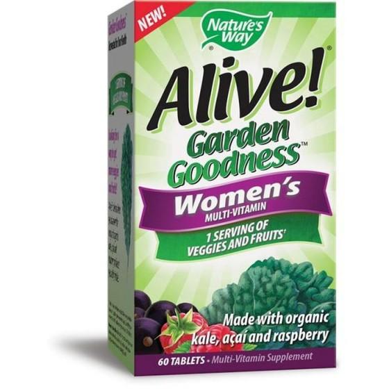 Alive / Алайв Garden Goodness Мултивитамини за жени 60 таблетки