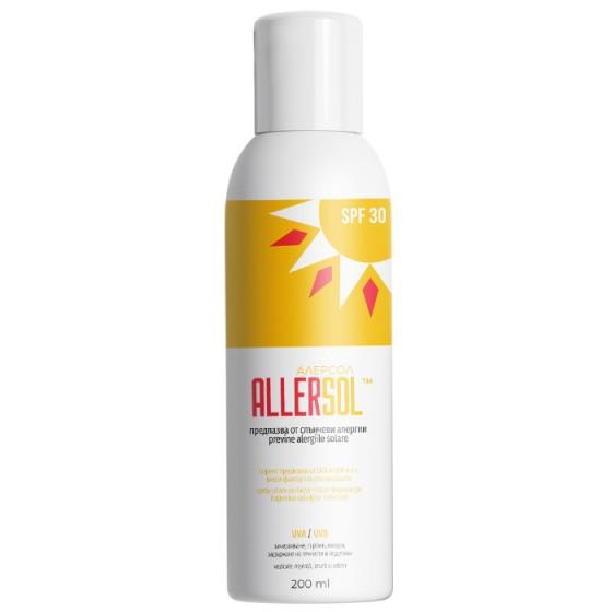 ALLERSOL / АЛЕРСОЛ SPF30 слънцезащитен спрей 200 мл