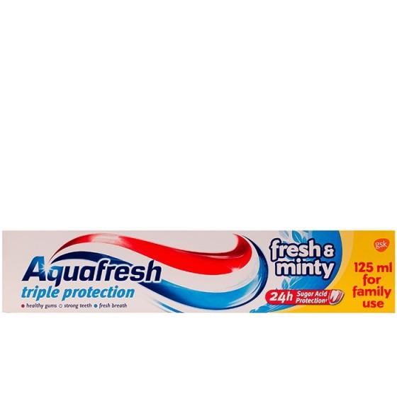 AQUAFRESH FRESH AND MINTY паста за зъби 125 мл