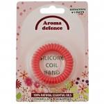 AROMA Defence / АРОМА Дифенс силиконова гривна против комари спирала