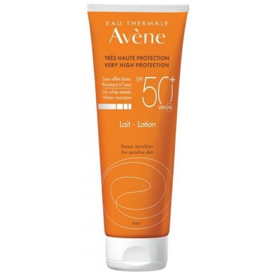 AVENE Sun / АВЕН слънцезащитно мляко за тяло SPF50+ 250 мл