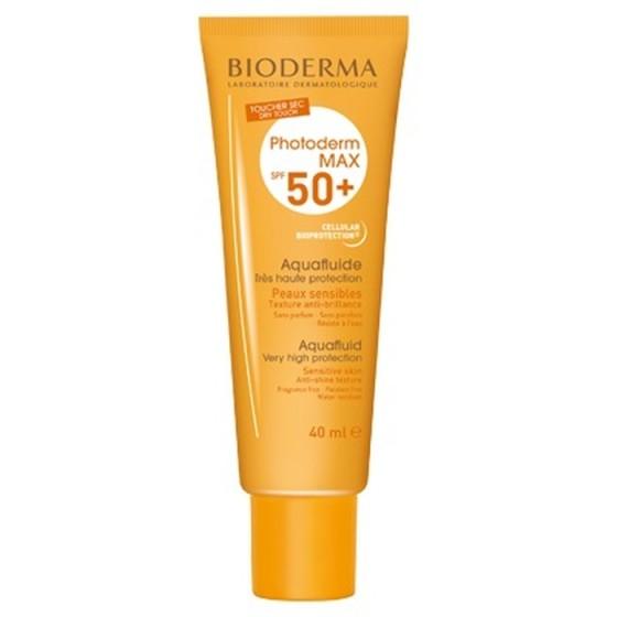 BIODERMA Photoderm MAX слънцезащитен аквафлуид за лице SPF50+ 40 мл