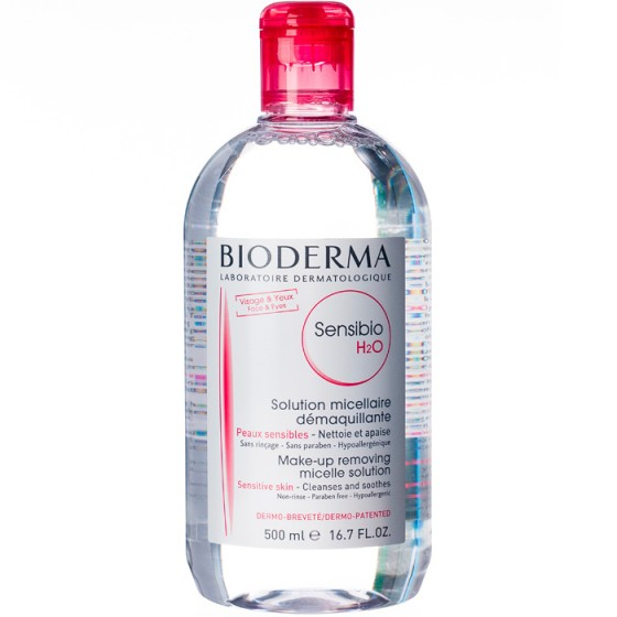 Bioderma Sensibio H2O мицеларна вода 500 мл