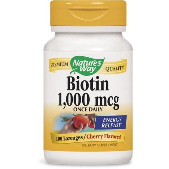 Nature\'s Way Биотин 1000 mcg 100 таблетки