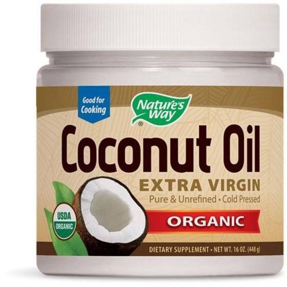 Nature\'s Way Кокосов орех Органик (суров кокосов плод, смлян) 448 g.