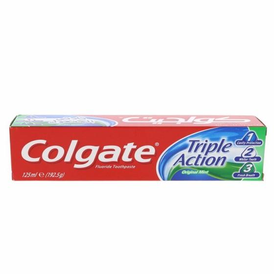COLGATE TRIPLE ACTION / КОЛГЕЙТ ТРОЙНО ДЕЙСТВИЕ паста за зъби 125 мл