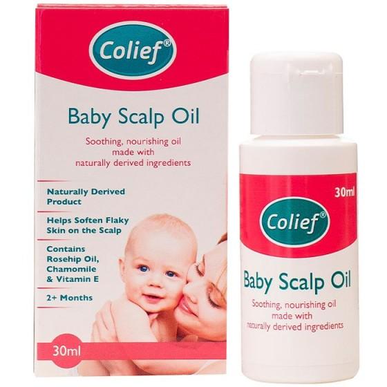 Colief Baby scalp oil / Колийф олио за бебешки скалп против крусти 30 мл