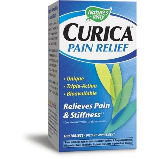 Nature's Way Curica Pain Relief (Успокой болката) 100 таблетки