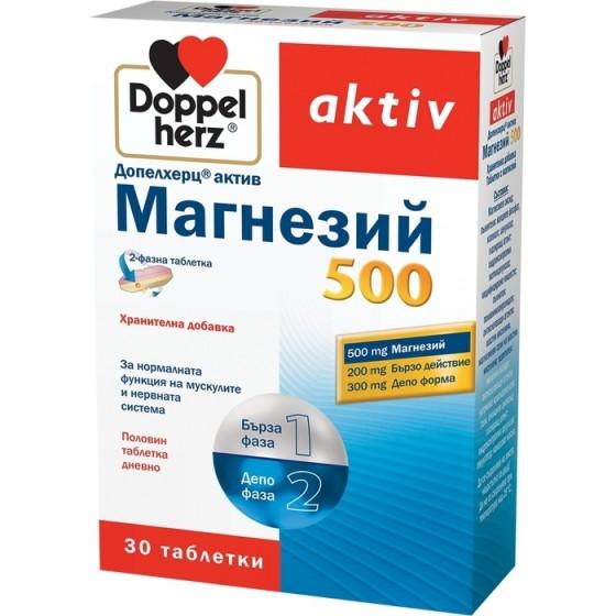 Допелхерц актив Магнезий 500 30 депо таблетки