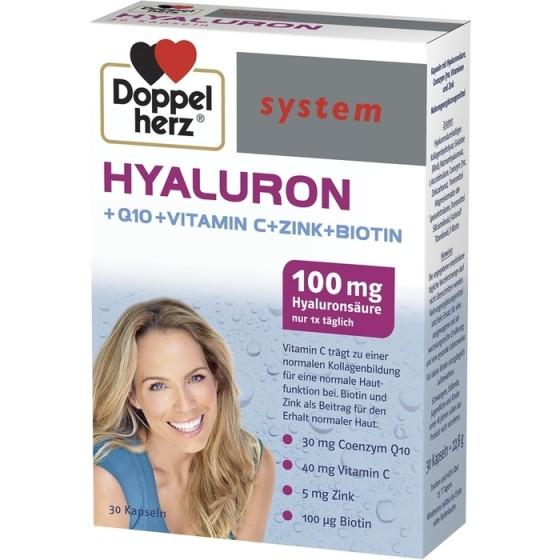 Допелхерц систем Хиалурон 100 мг 30 капсули