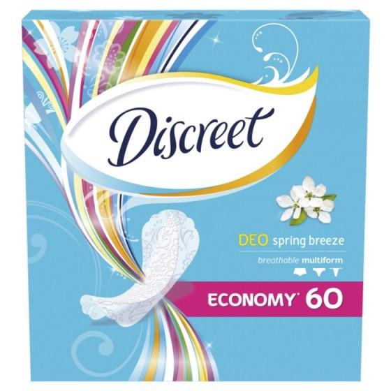 DISCREET Deo Spring Breeze 60 ежедневни дамски превръзки