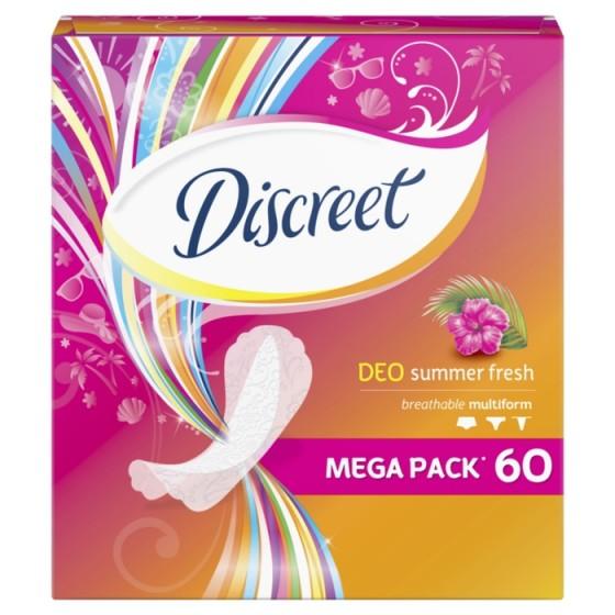 DISCREET Deo Summer Fresh 60 ежедневни дамски превръзки