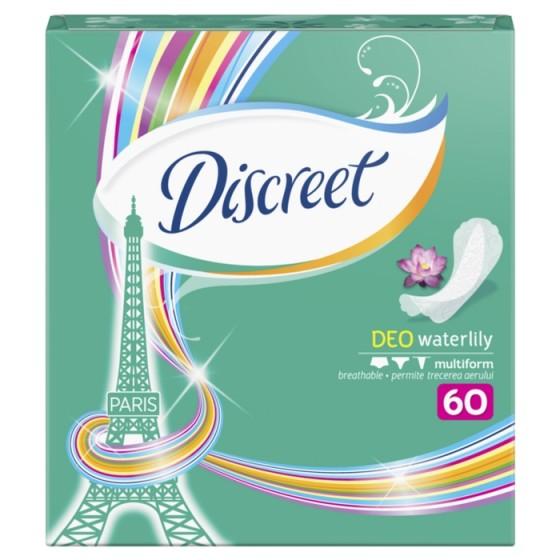 DISCREET Deo Waterlily 60 ежедневни дамски превръзки