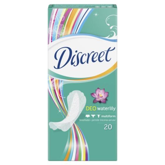 DISCREET Deo Waterlily 20 ежедневни дамски превръзки