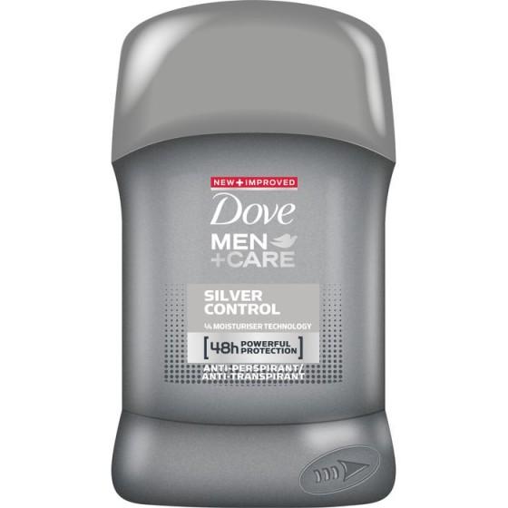 Dove stick дезодорант за мъже silver 50 мл