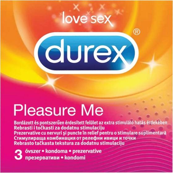 Durex Pleasure Me презервативи 3 бр.