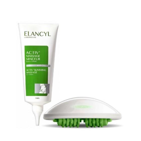 Elancyl Minceur / Елансил концентриран гел за отслабване 200 мл + масажна ръкавица