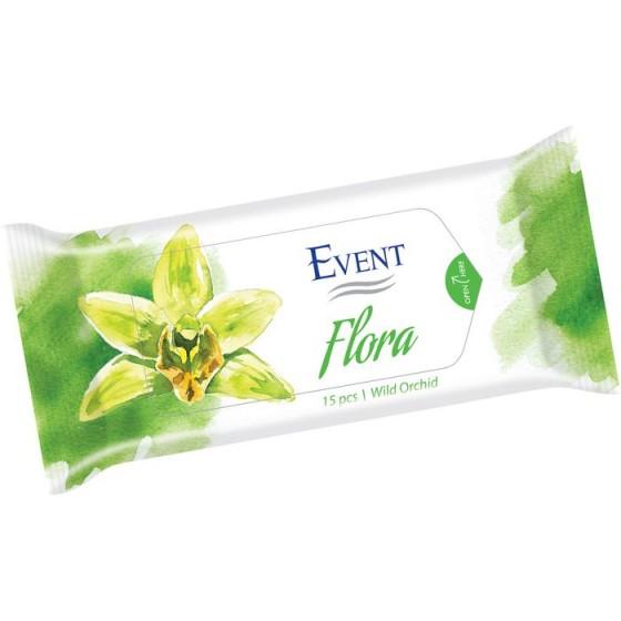 Event Flora Wild Or. Кърпички 15 бр