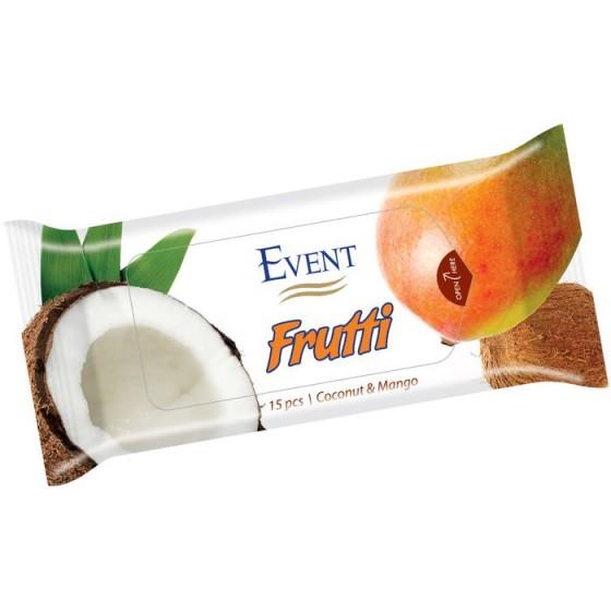 Event Frutti Coconut + Mango кърпички 15 бр