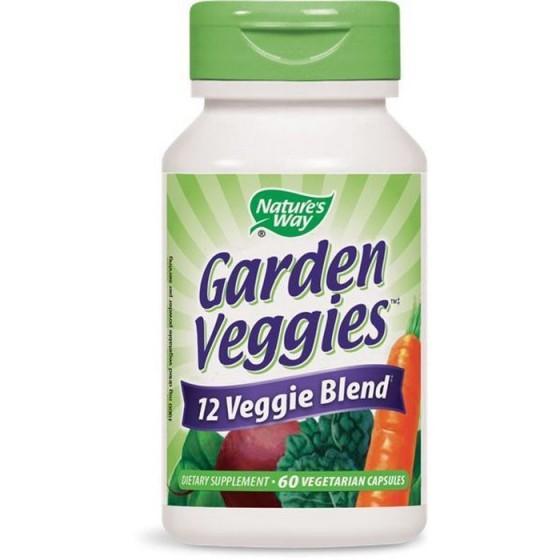 Nature\'s Way Garden Veggies (Зеленчуков антиоксидант) 60 капсули