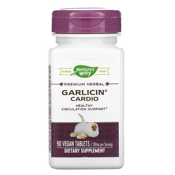 Nature's Way Гарлицин Кардио 350 mg 90 капсули
