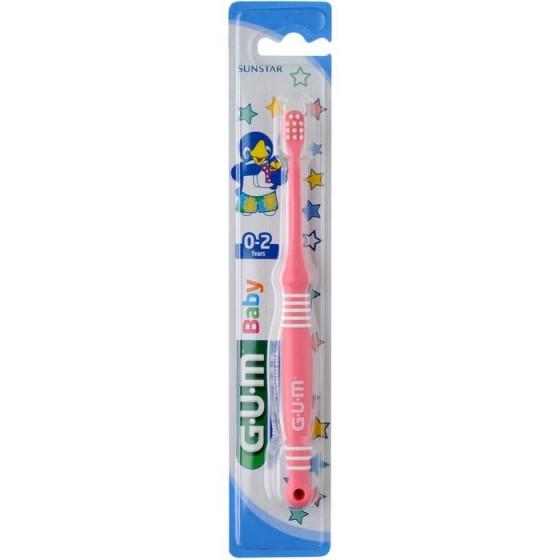 Gum Baby четка за зъби за деца 0-2 год.