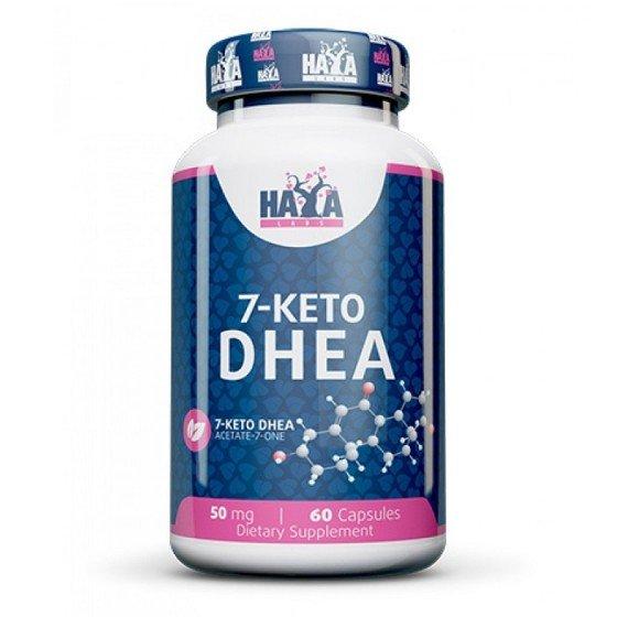 HAYA LABS 7-KETO DHEA / 7-КЕТО ДХЕА 60 капсули х 50 мг