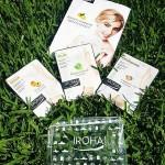 IROHA Комплект Soft с ръкавици и чорапи арган + маска за лице + подарък несесер