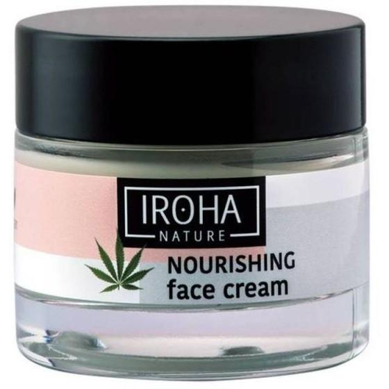 IROHA/Ироха FACE CREAM - CANNABIS SEED OIL крем за лице с масло от смеена на канабис 50 МЛ