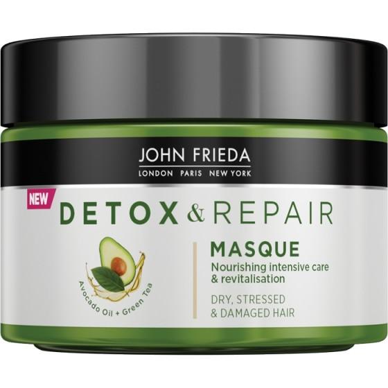 JOHN FRIEDA Detox&Repair / ДЖОН ФРИДА интензивно подхранваща маска за суха и увредена коса  250 мл