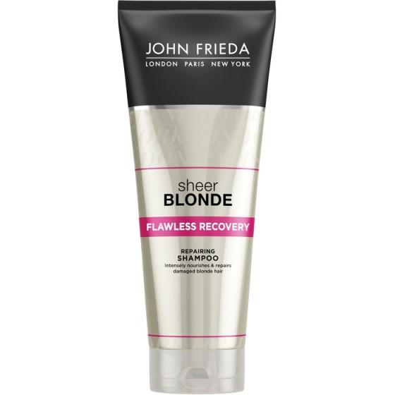 JOHN FRIEDA Sheer Blonde / ДЖОН ФРИДА възстановяващ шампоан за руса коса 250 мл