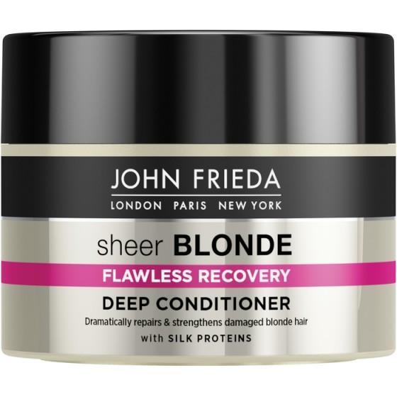 JOHN FRIEDA Sheer Blonde / ДЖОН ФРИДА възстановяваща маска за руса коса 250 мл