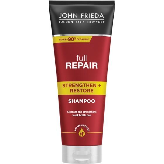 JOHN FRIEDA Full Repair / ДЖОН ФРИДА възстановяващ шампоан за изтощена коса 250 мл
